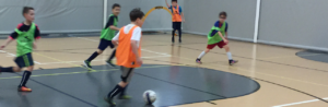 Image of Soccer Players in a Gymnasium - Premiere Indoor Training - World Class Soccer School - Pennsylvania