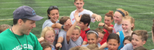 Image of Soccer Players Cheering - World Class Soccer School - Camps - Pennsylvania