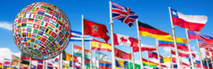 Image of International Flags - World Class Soccer School - Pennsylvania