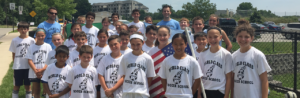 Image of Soccer Players with Flags - World Class Soccer School - WCSS - Pennsylvania